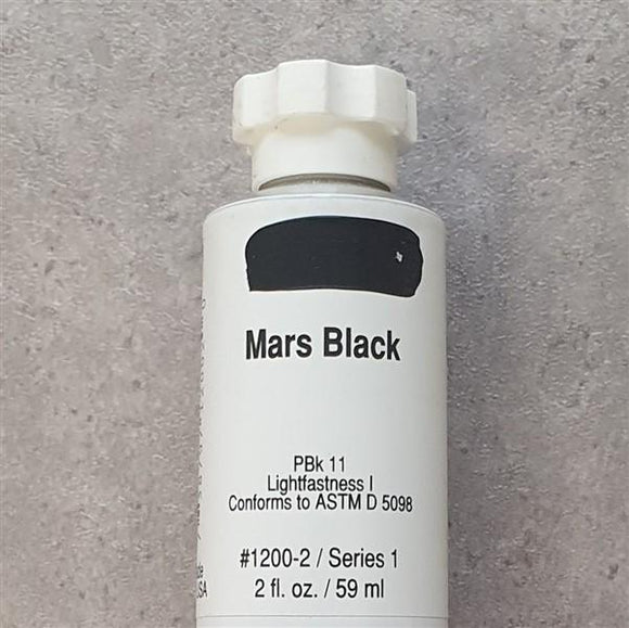Mars Black Heavy Body-Golden-Freya Jones Art and Craft