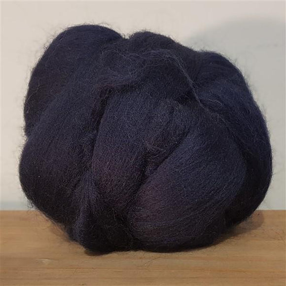 Midnight 100% Merino-Fibres-Freya Jones-Freya Jones Spinning and Fibre Craft