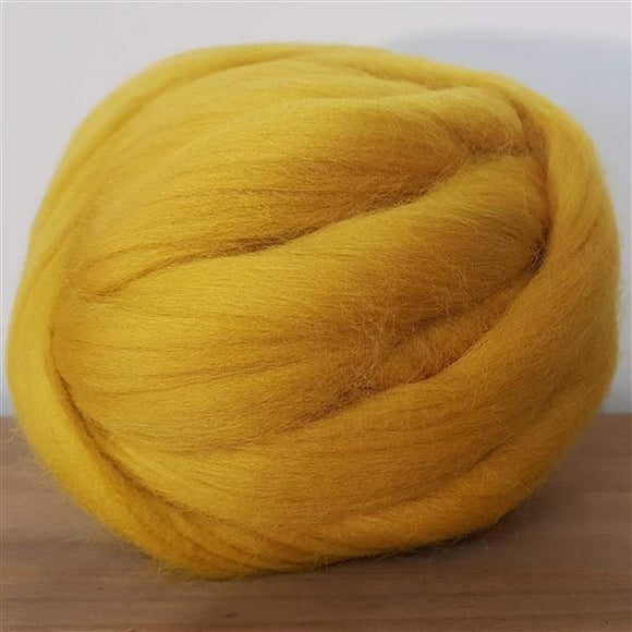 Mustard 100% Merino-Freya Jones-Freya Jones Art and Craft