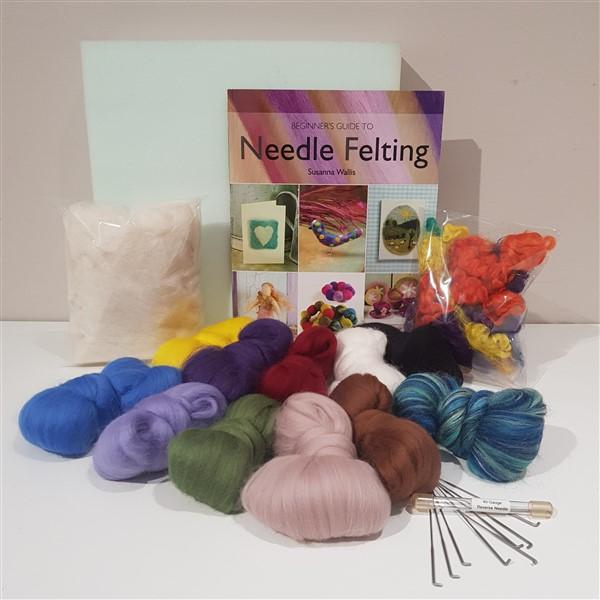 Needle Felting Starter Kit-felting accessories-Freya Jones-Freya Jones Spinning and Fibre Craft