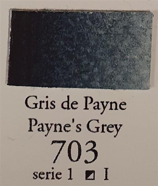 Payne's Grey 703 10ml Tube-Sennelier-Freya Jones Art and Craft