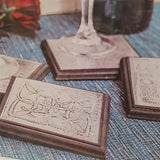 Pewter Coaster Kit-Freya Jones-Freya Jones Art and Craft