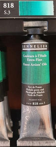 Phthalo Green Cool 818-Oil Paint-Sennelier-Freya Jones Spinning and Fibre Craft