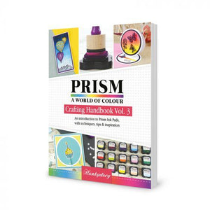 Prism Crafting Handbook Volume 3 - Prism Ink Pads-HunkyDory-Freya Jones Art and Craft