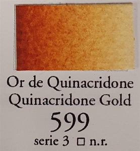 Quinacridone Gold 599 10ml Tube-Sennelier-Freya Jones Art and Craft