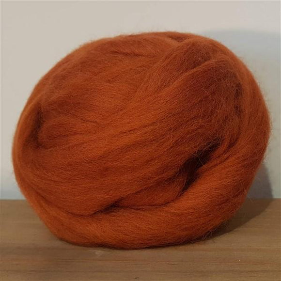 Rust 100% Merino-Freya Jones-Freya Jones Art and Craft