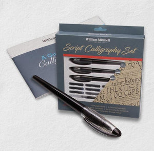 Script Calligraphy Set-Freya Jones-Freya Jones Art and Craft