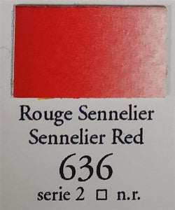 Sennelier Red 636 10ml Tube-Sennelier-Freya Jones Art and Craft