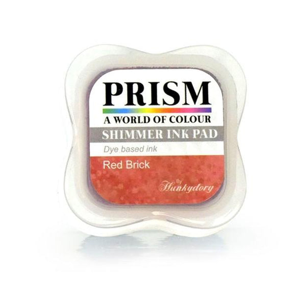 Shimmer Prism Ink Pads - Red Brick-HunkyDory-Freya Jones Art and Craft