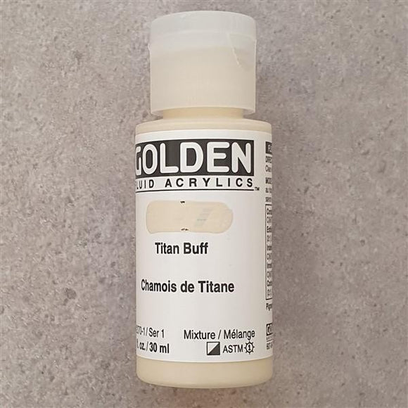 Titan Buff Fluid Acrylic-Golden-Freya Jones Art and Craft