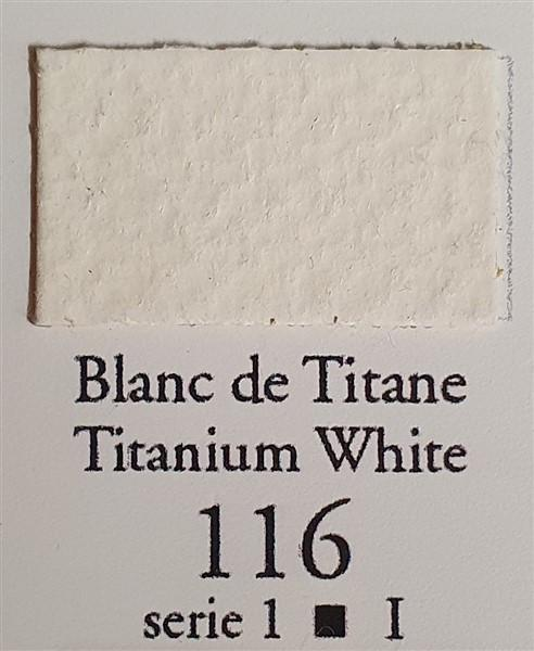 Titanium White 116 10ml Tube-Sennelier-Freya Jones Art and Craft
