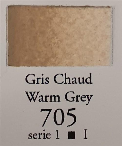 Warm Grey 705 Half Pan-Sennelier-Freya Jones Art and Craft