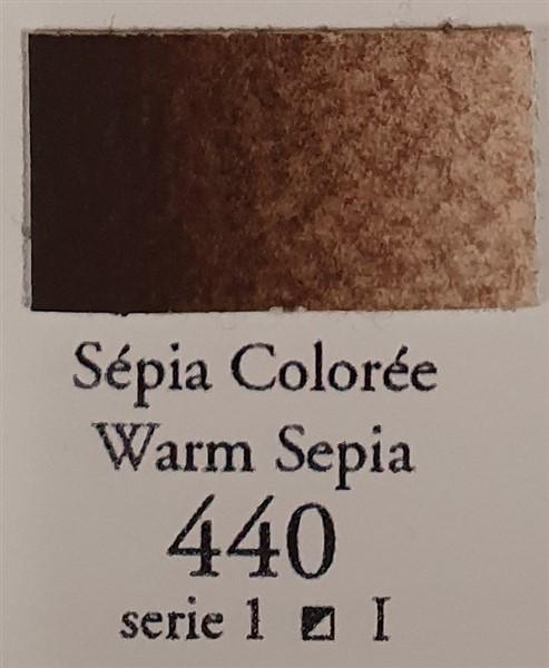 Warm Sepia 440 Half Pan-Sennelier-Freya Jones Art and Craft