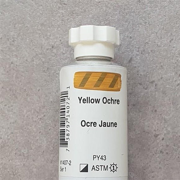 Yellow Ochre Heavy Body-Golden-Freya Jones Art and Craft