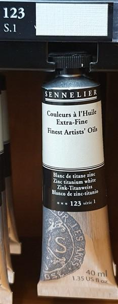 Zinc Titanium White 123-Sennelier-Freya Jones Art and Craft