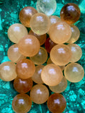Small Honey Calcite Sphere - Chakra Zulu