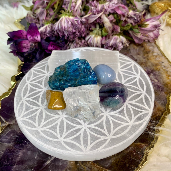 Crystals for Aquarius - Chakra Zulu