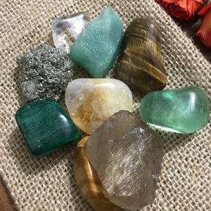 Crystals for Prosperity - Chakra Zulu