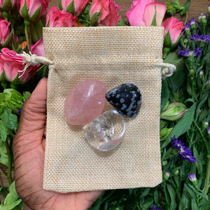 Grounded In Love Crystal Set - Chakra Zulu