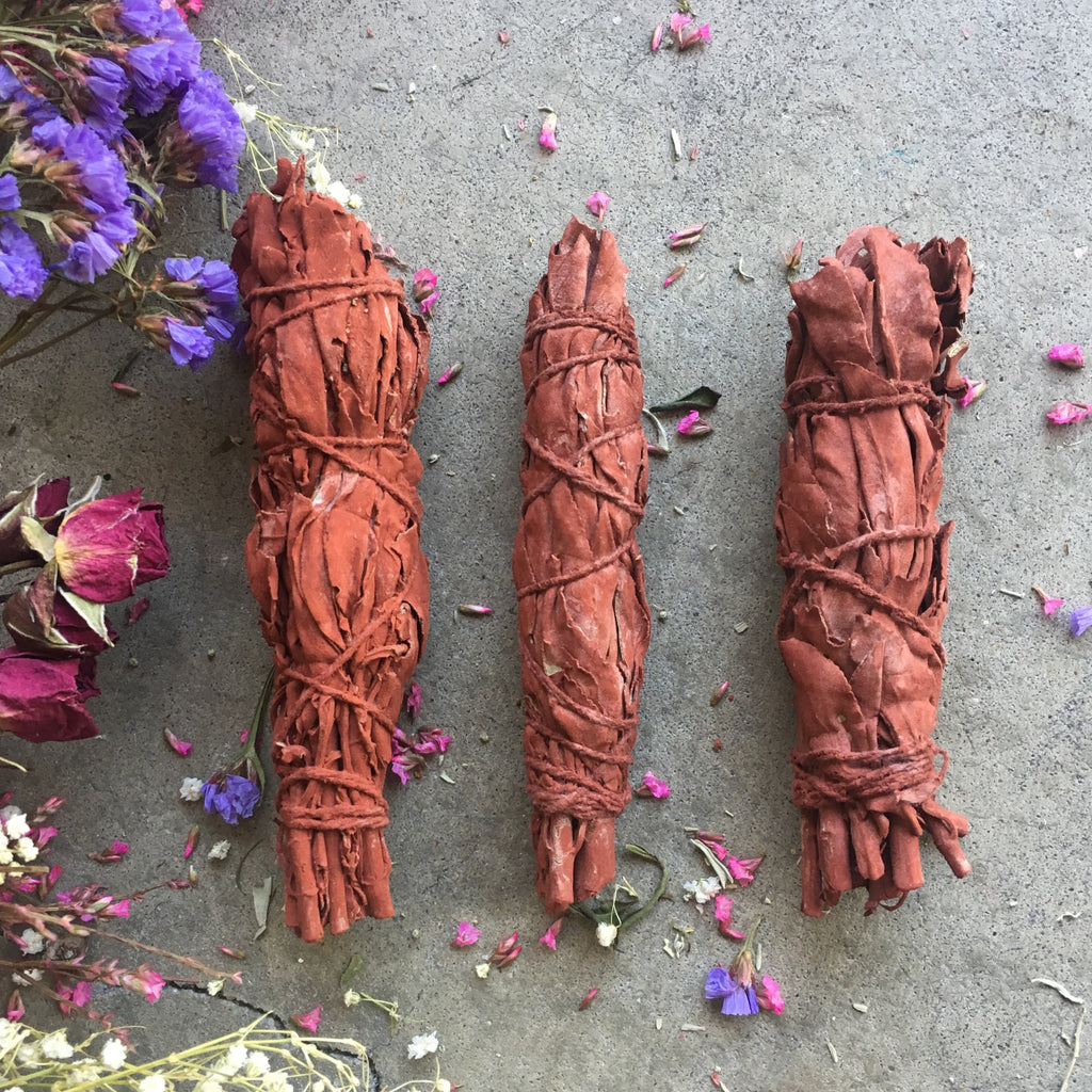 Dragon's Blood  Incense Smudge Stick - Chakra Zulu