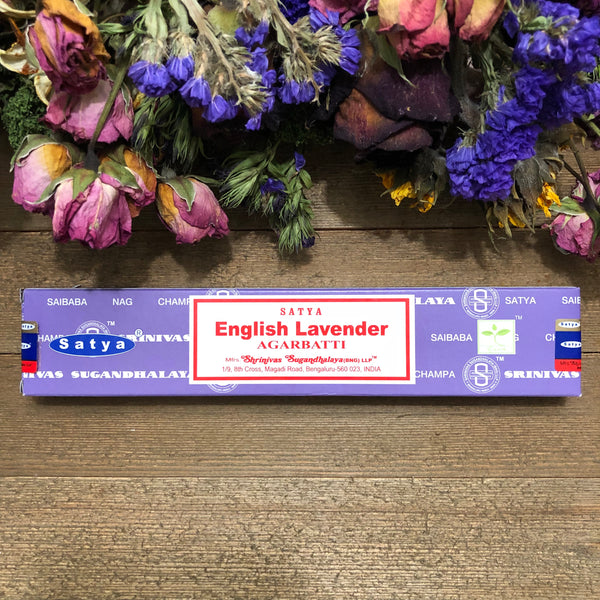 English Lavender Incense Sticks - Chakra Zulu