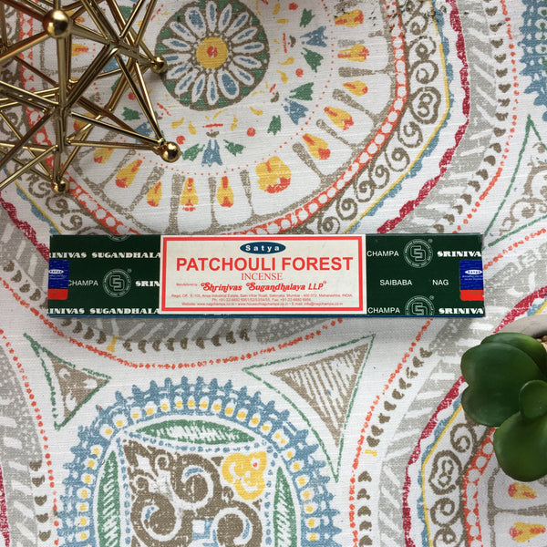 Patchouli Forest Champa Incense Sticks - Chakra Zulu