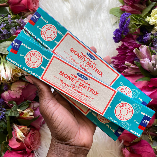 Satya Money Matrix Incense - Chakra Zulu
