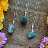 Tumbled Emerald Necklace - Chakra Zulu
