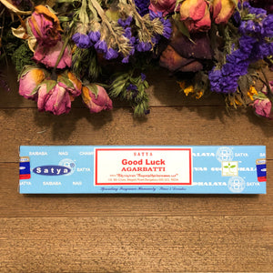 Good Luck Incense Sticks - Chakra Zulu