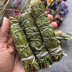 "4"" Cedar Smudge Incense Stick - Chakra Zulu"
