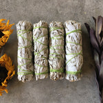 White Sage Incense Smudge Stick - Chakra Zulu