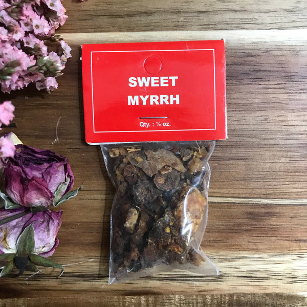 Sweet Myrrh Resin Incense - Chakra Zulu