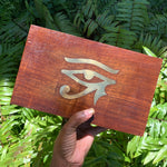 Large Wooden Gemstone Storage Box - Chakra Zulu