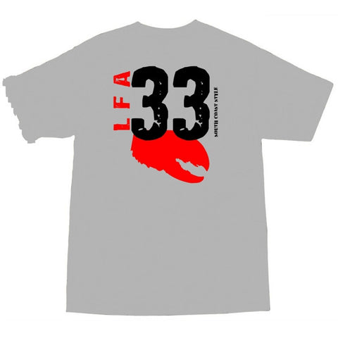 Lobster Pride - LFA33 Grey Tee