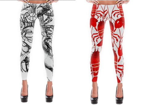 Lobster Chic - Leggings - print all over