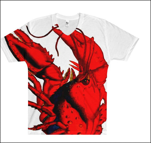 Lobster Pride - Full-print Uni-sex Tee - Lobster #1