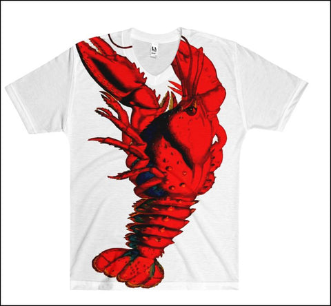 Lobster Pride - Full-print Uni-sex Tee - Lobster #3