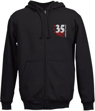 Lobster Pride - 35 LFA - Zippered Hoodie