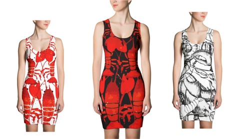 Lobster Chic - Dress - print allover