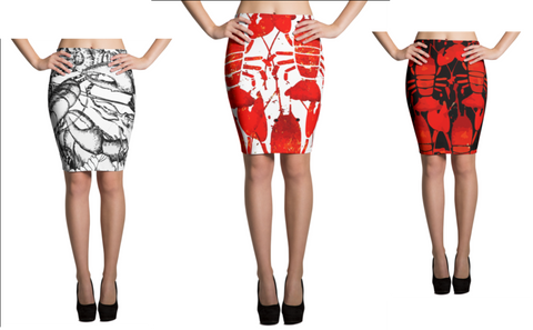Lobster Chic - Skirt - print allover