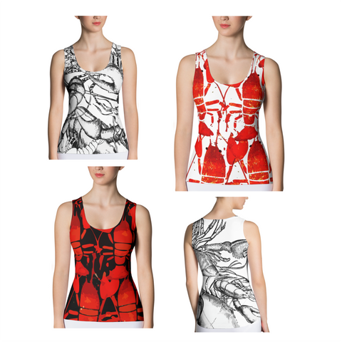 Lobster Chic - Tank Top - print allover