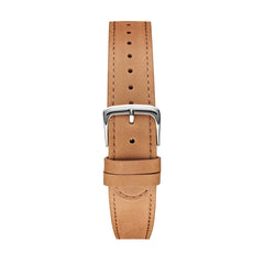 Camel Silver Leather