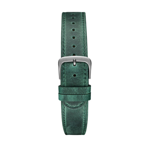 Green Grey Leather