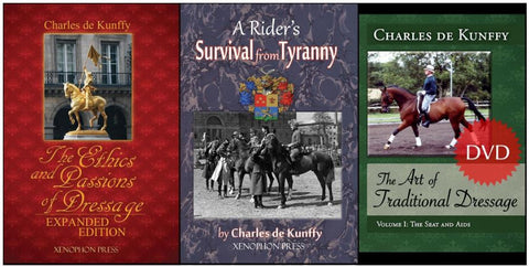 Charles de Kunffy Value Bundle: 2 books & 1 DVD included