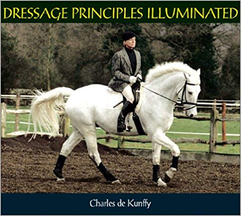 Dressage Principles Illuminated by Charles de Kunffy - out of print - gently used copy