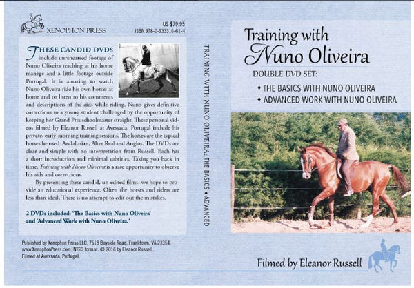 "Training with Nuno Oliveira - ""The Basics"" and ""Advanced Work"" - 2 DVD set"