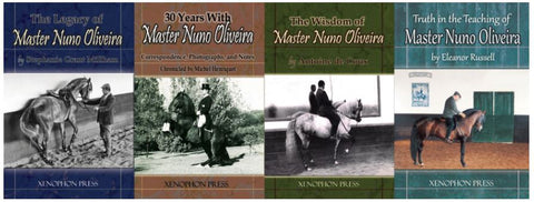 4 Master Nuno Oliveira Books: de Coux-Henriquet-Millham-Russell