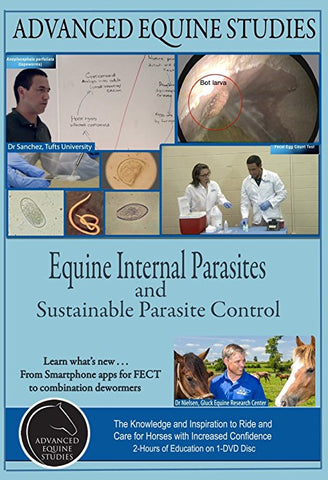 Advanced Equine Studies: Equine Internal Parasites DVD 2 hours