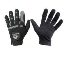 New AquaGrip Black Synthetic BIONIC Equestrian Glove