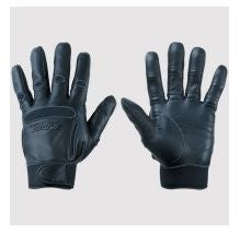 Classic Black Leather/Neoprene BIONIC Equestrian Glove